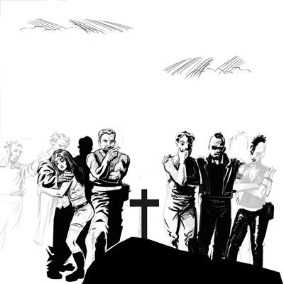 Funeral at Cismigiu Park