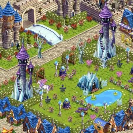 Scene from Loredana's Castleville Kingdom