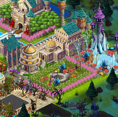 The magical Castleville Kingdom of Yume