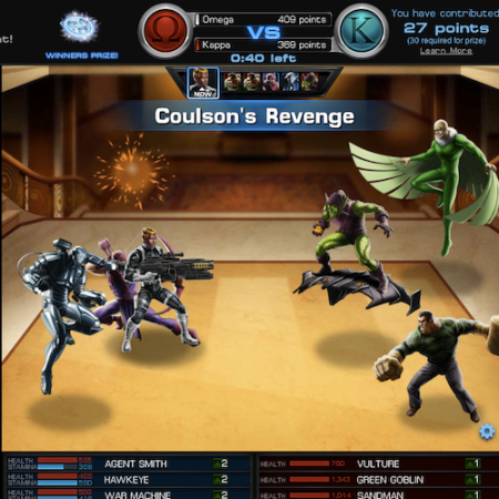 Marvel Avengers Alliance: Coulsons Revenge
