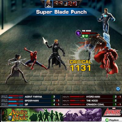 SBP on Wave 1 of Chapter 8 Epic Boss Battle