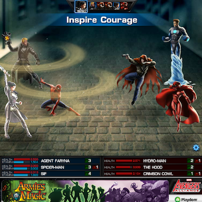 Marvel Avengers Alliance: Sif Inspires Courage