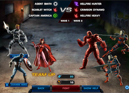 Marvel Avengers Alliance: Special Ops 2 Boss Fight
