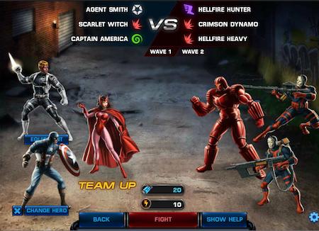 Marvel Avengers Alliance: Special Ops 2 Boss Fight