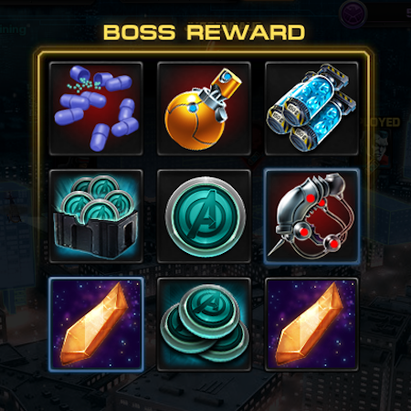 Marvel Avengers Alliance: Spec Ops 2 Boss Reward