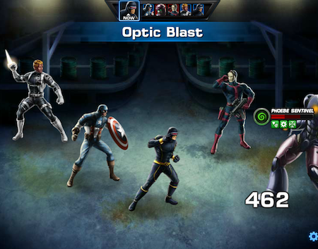 Marvel Avengers Alliance: Special Ops 2: Mission 2: Medium Threat