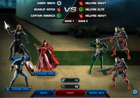 Marvel Avengers Alliance: Special Ops 2: Mission 1: High Threat