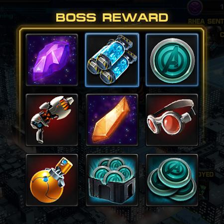 Marvel Avengers Alliance: Special Ops 2 M2 Boss Reward