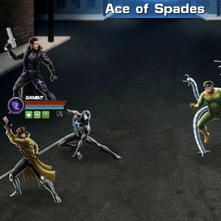 Marvel Avengers Alliance: Gambit: Special Powers: Ace of Spades