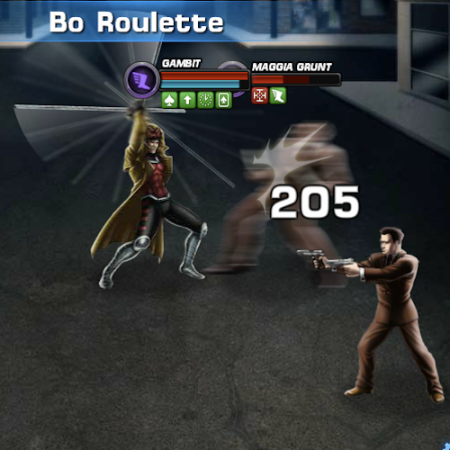 Marvel Avengers Alliance: Gambit: Special Powers: Bo Roulette