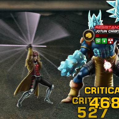 Marvel Avengers Alliance: Gambit: Special Powers: Ragin Cajun
