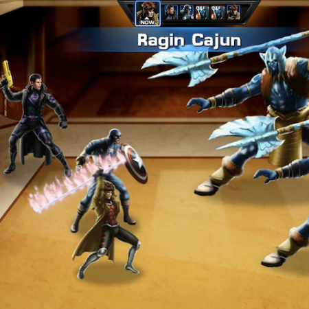 Marvel Avengers Alliance: Gambit: Special Powers: Ragin Cajun