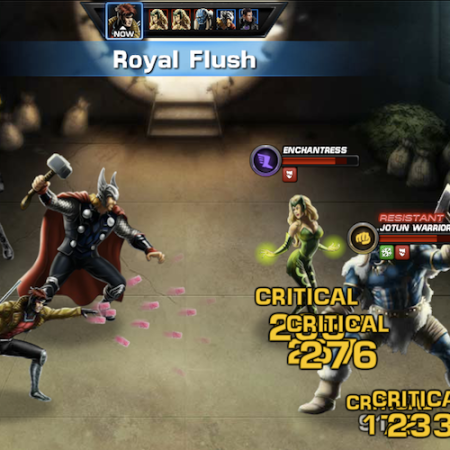 Marvel Avengers Alliance: Gambit: Special Powers: Royal Flush