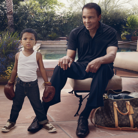 Louis Vuitton Ad: Muhammad Ali