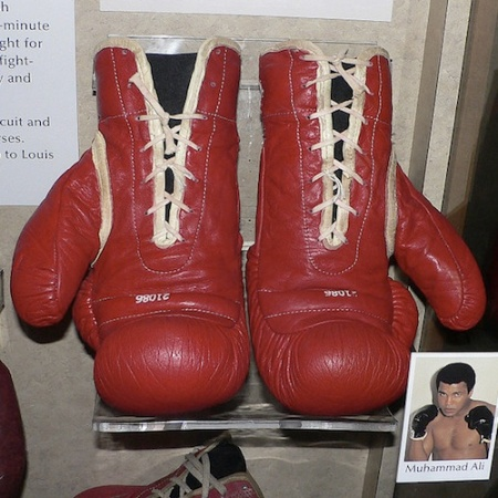 Muhammad Ali's boxing gloves