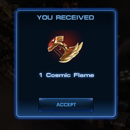 Marvel Avengers Alliance: Epic Boss Reward: Cosmic Flame