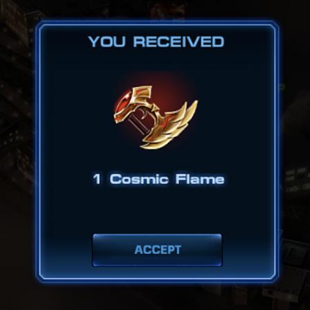 Marvel Avengers Alliance: Epic Boss Reward: Cosmic Flame