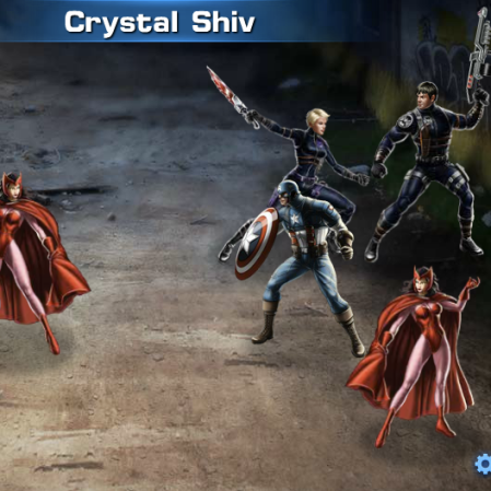 The Hero School Review: Gold Gear: Crystal Shiv