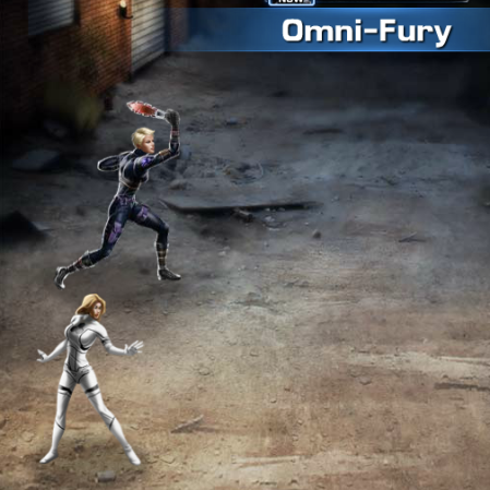 Marvel Avengers Alliance: Gold Gear: Omni-Fury