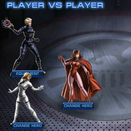Marvel Avengers Alliance: PVP Team