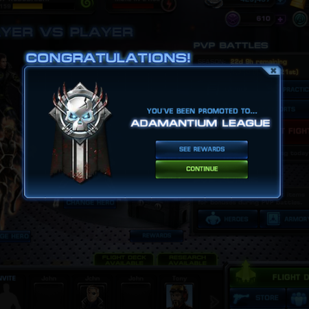 Marvel Avengers Alliance: Admantium League