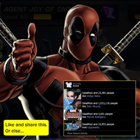 Deadpool haz internets
