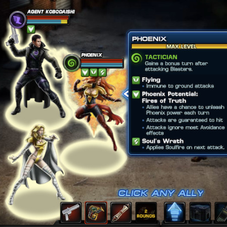 Marvel Avengers Alliance: Phoenix: Phoenix Five Uniform