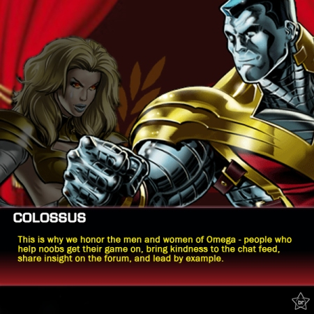 Colossus speaks about Omega Guild's Honorees
