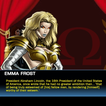 Emma Frost Quotes Abraham Lincoln