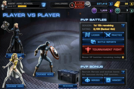 Marvel Avengers Alliance DeadPool Season