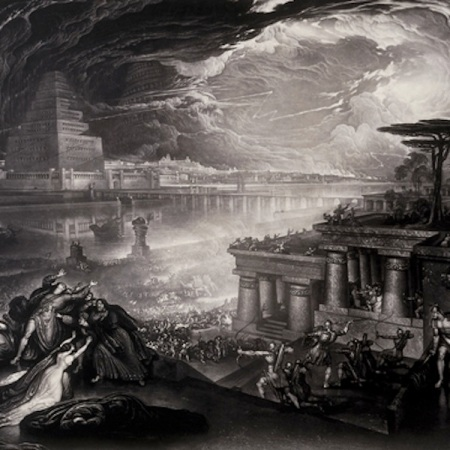 John Martin's The Fall of Babylon