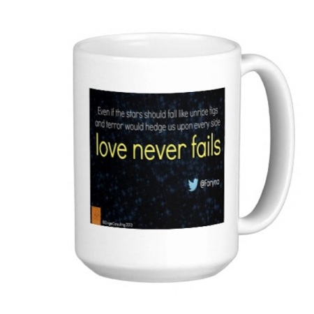 Faryna Mug - love never fails