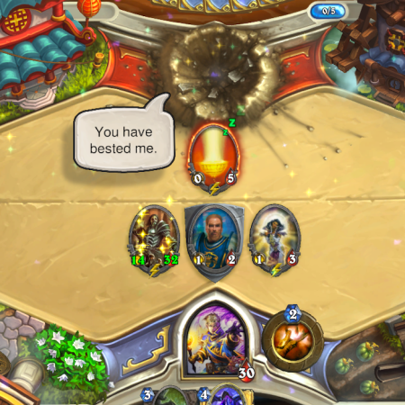 Hearthstone Concede Victory to Faryna