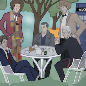 Five Doctors at High Tea Crop