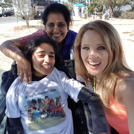 Nisha, her mom and Katherine.png